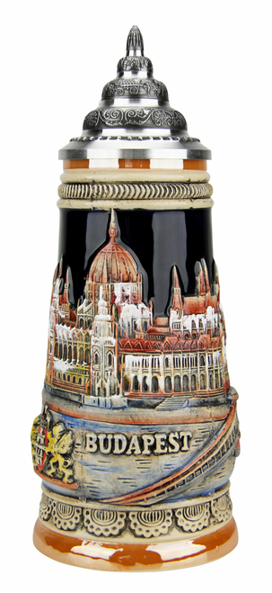 Budapest Beer Stein
