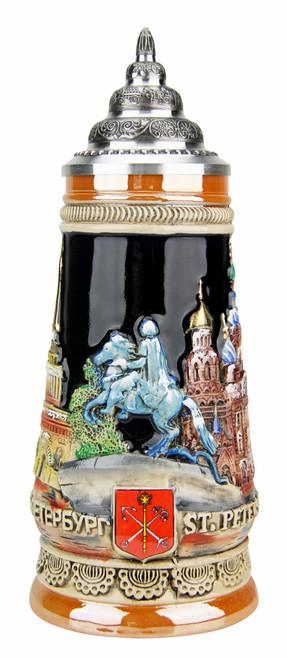 Saint Petersburg Russia Beer Stein