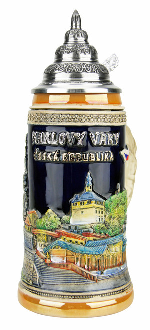 Carlsbad Karlovy Vary Czech Republic Beer Stein