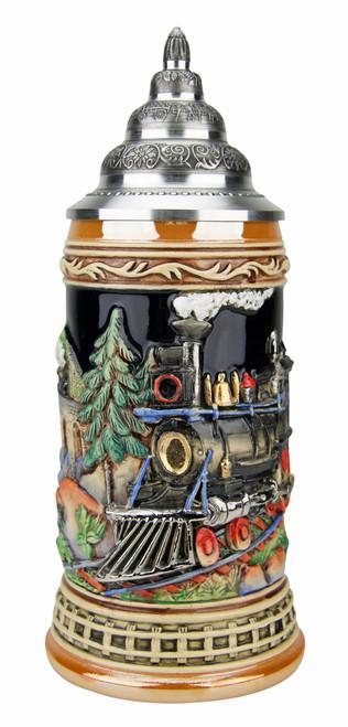 Train Beer Stein