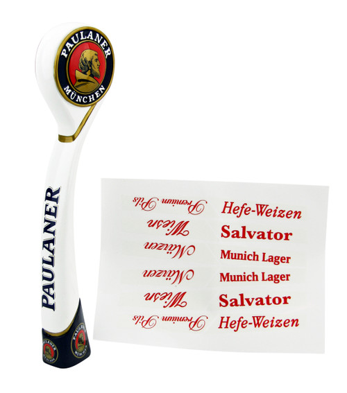 Paulaner Tap Handle with Beer Style Stickers