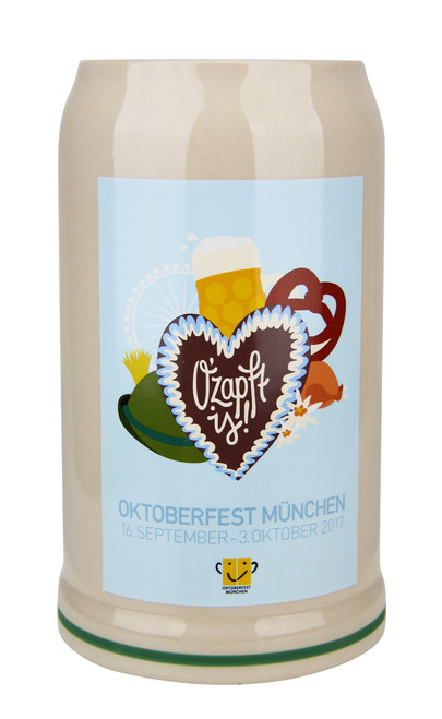 Munich 2017 Official Oktoberfest Beer Mug