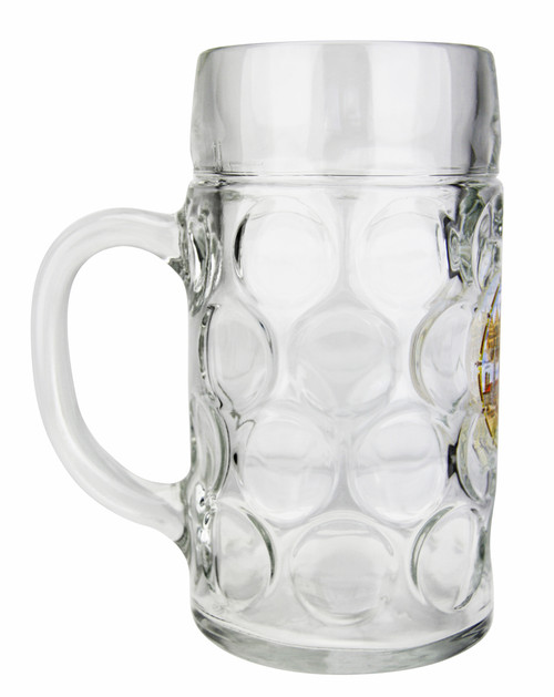 Authentic Beer Mug with German Landmarks