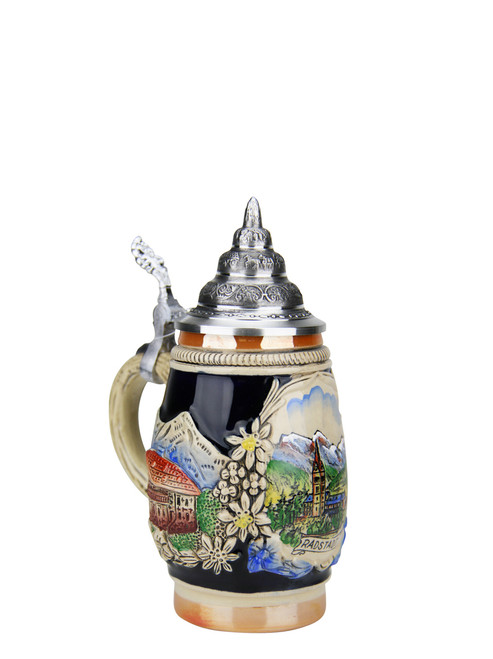 .25 Liter Hand-Painted German Beer Stein