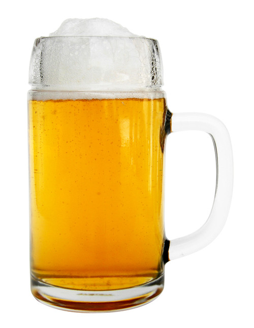 0.5L Styria Smooth Body Oktoberfest Glass Beer Mug
