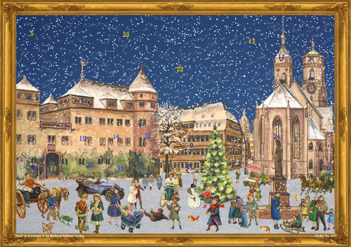 City of Stuttgart German Advent Calendar