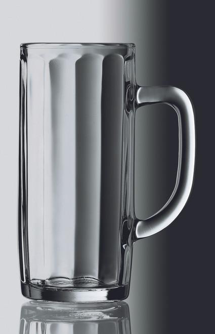 Personalized .5 Liter Moldau Glass Beer Mug