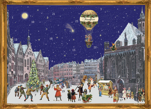 City of Frankfurt German Advent Calendar