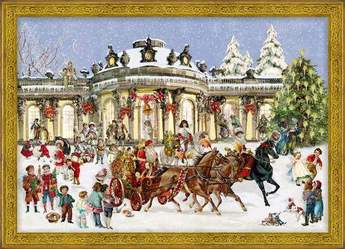 Victorian Sanssouci Castle German Christmas Advent Calendar