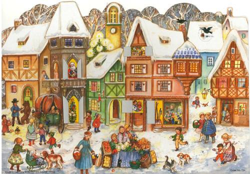 German Christmas Market Advent Calendar