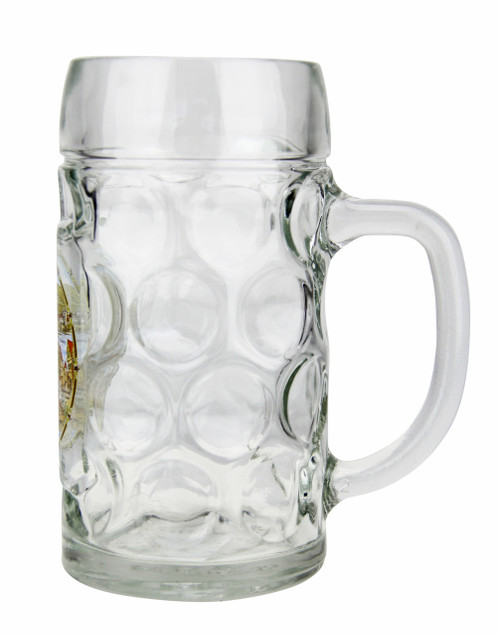 Personalized Beer Mug with German Landmarks