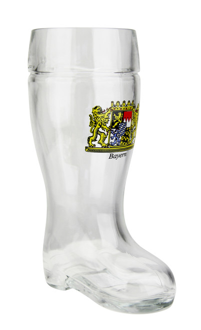 Traditional German Personalized Beer Boot 0.5 Liter