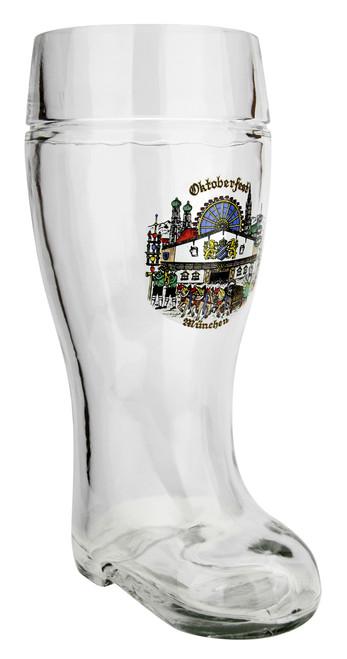 Custom Engraved Authentic 1 Liter German Beer Boot