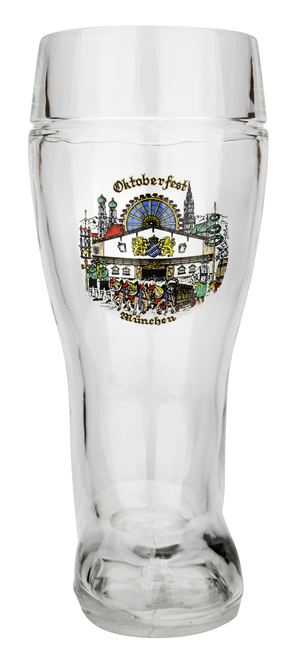 Personalized 1 Liter Oktoberfest Beer Boot