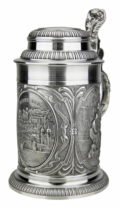 Heidelberg Pewter Beer Stein