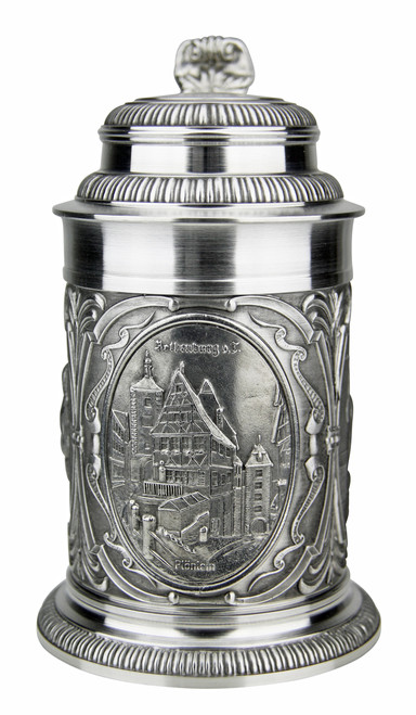 Rothenburg Pewter Beer Stein
