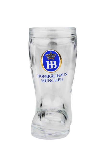 Hofbrauhaus HB Beer Boot Shot Glass