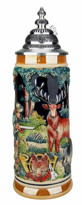 Hunters Fox Handle Beer Stein