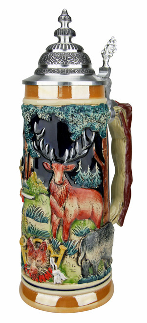 Hunters Fox Handle Beer Stein