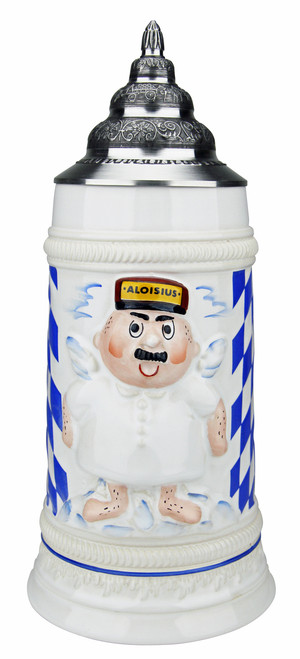 Aloisius the Bavarian Angel German Beer Stein