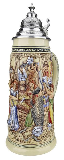 King Limitaet 2018 | Old German Victory Feast Handpainted Beer Stein