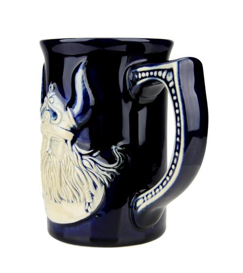Leif Eriksson Viking Coffee Cup Cobalt