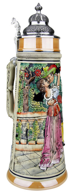 Hunters Kiss Handpainted Beer Stein | 2 Liter