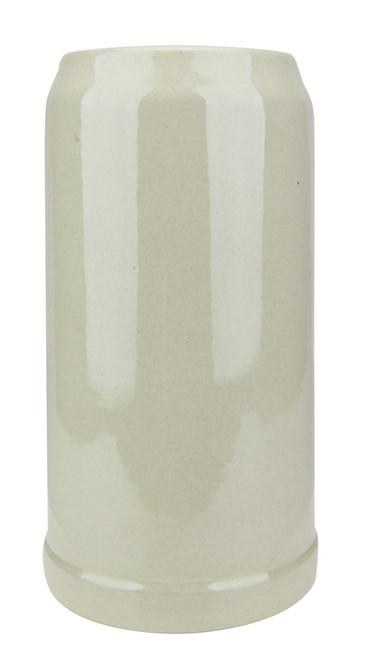 King Werk Gray Glaze Stoneware Beer Mug 1 Liter