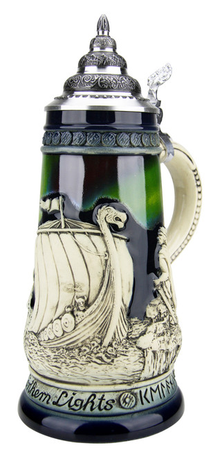 Northern Lights Viking Beer Stein