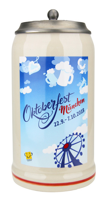 Munich 2018 Official Oktoberfest Beer Stein