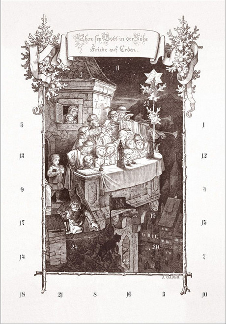 Ludwig Richter German Christmas Advent Calendar