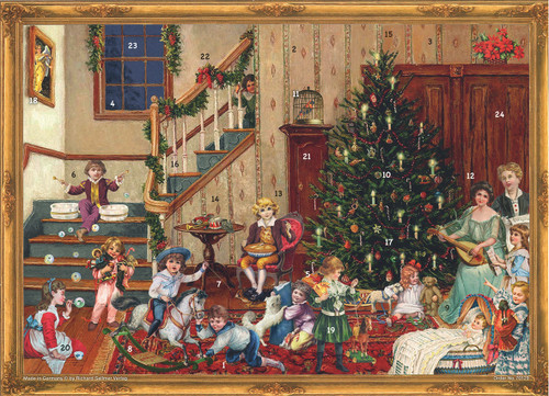 Victorian Christmas Day German Advent Calendar