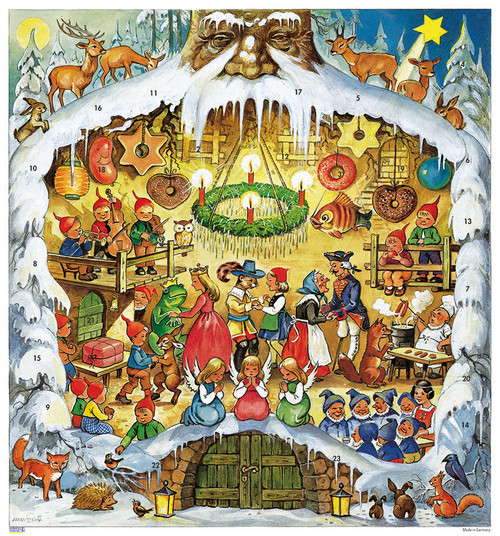 Fairy Tale 1987 Reproduction German Advent Calendar