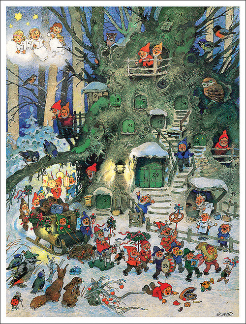 Enchanted Christmas Parade German Advent Calendar