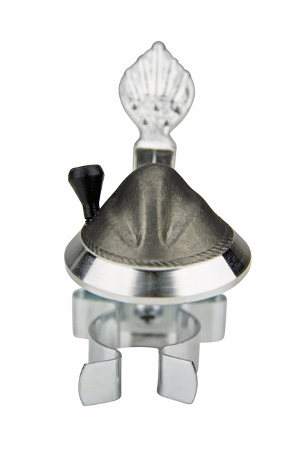 3D Pewter Traditional German Hat Fits Most Beer Bottles