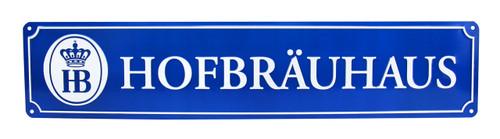 Hofbrauhaus HB Brewery Metal Street Sign