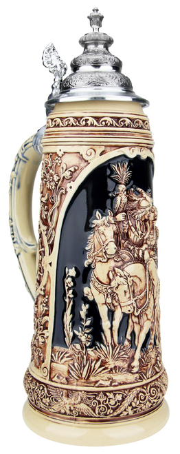 King Limitaet 2019 | Falcon Hunt Antique Style Beer Stein