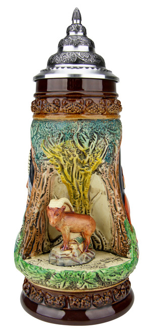 Chamois Wildlife Grotto Beer Stein