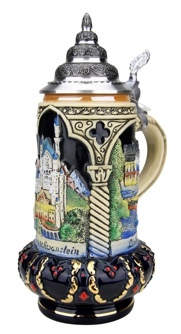 Castles of King Ludwig Crown Stein