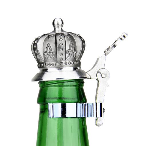 Crown Beer Stein Lid for Beer Bottles