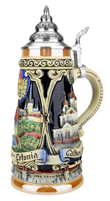 Tallinn Estonia Beer Stein