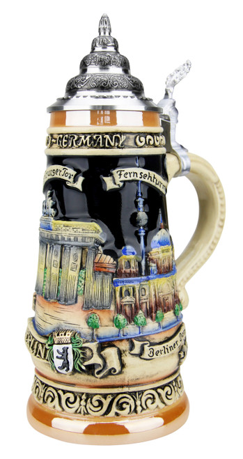 Berlin and Brandenburg Gate Beer Stein