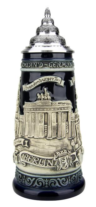 Berlin Beer Stein Cobalt