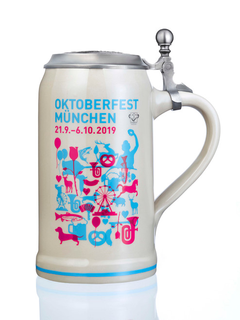 Munich 2019 Official Oktoberfest Beer Stein