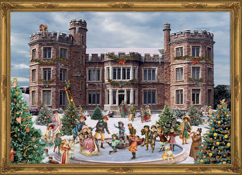 Victorian Castle German Advent Calendar