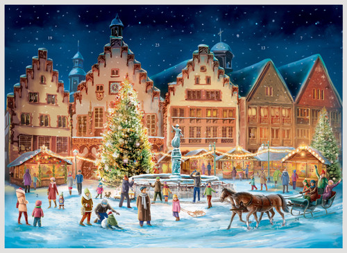 Frankfurt Romer German Advent Calendar