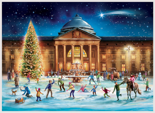 Wiesbaden German Advent Christmas Calendar