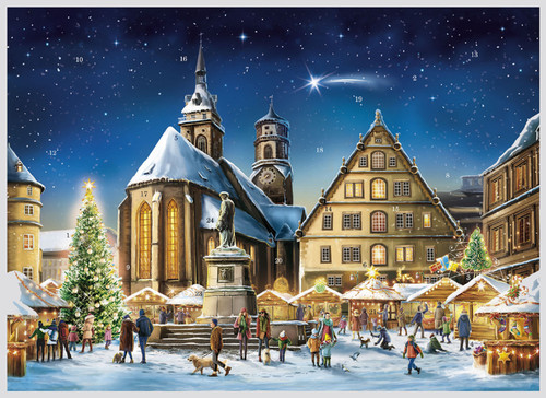 Stuttgart German Advent Christmas Calendar