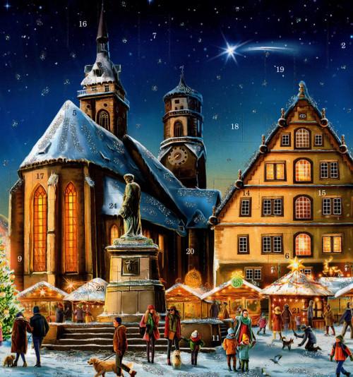 Stuttgart German Advent Christmas Calendar