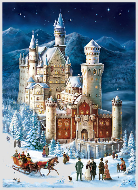 Neuschwanstein German Advent Calendar